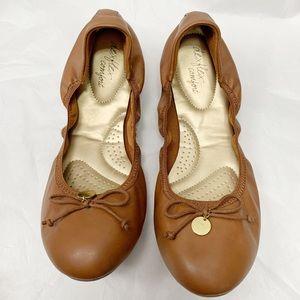 Dexflex Comfort String Tie Ballet Flat Brown 12W